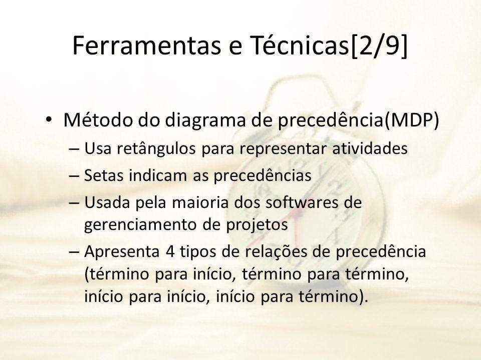Ferramentas e Técnicas[2/9]